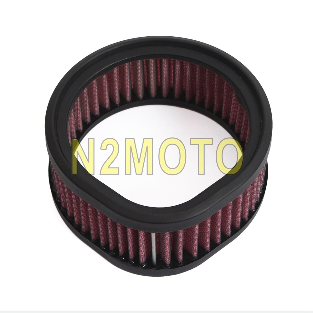 NEW S/&S High-Flow Air Filter And Adapter Kit