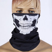 Skull Skeleton Masks Black Motorcycle Multi Function Headwear Hat Neck Scary Sport Face Winter Ski Mask