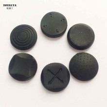 6 In 1 Rubber Protective Button Pad Kit Silicone Grip Analog Joystick Cap Cover For Sony For PS Vita PSV 1000 Console 4 Color