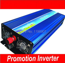 High power 3000W modified sine wave inverter 24V to 120V 60Hz 3000W, off inverter free shipping(China)
