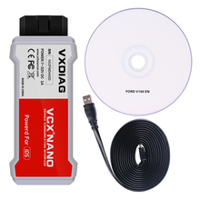 Newest! VXDIAG VCX NANO for Ford/Mazda 2 in 1 WIFI USB with IDS V104 v101 Better Than VCM II FOR FORD Free shipping