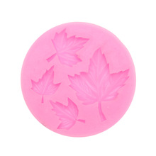 3D Maple Leaf Silicone Cake Mold Fondant Chocolate Cake Decorating Tools Candy Clay Moulds Christmas Party Cake Supplies