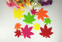 Wall Sticker For Kids Rooms 10Pcs Autumn Maple Leaf Scarecrow Stickers Para Baby Kids Room Home Decor Room Stickers