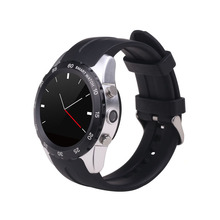 "best selling KW08 1.22"" touch screen ce rohs bluetooth 3.0 smart watch phone watch  with sim card music player smartwatch"
