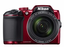 Nikon Coolpix B500 16.0 MP Digital Camera 40x Zoom Full-HD WiFi/ NFC RED(Hong Kong)