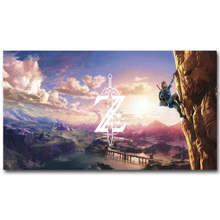 The Legend Of Zelda Art Silk Poster Huge Print 12x21 24x43 inches New Game Wall Picture Home Living Room Decor 013