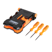 JAKEMY JM-Z13 4-in-1 Repair Holder Mobile Phone Repairing Tool Adjustable Fixed Screen Holder with Different Screwdriver Models