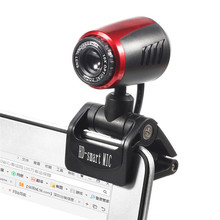 20 Mega Pixel HD Webcam Camera Auto-Fix USB2.0 Web Cam With MIC For Notebook Laptop Support Netmeeting MSN Skype Yahoo Videoing(China)
