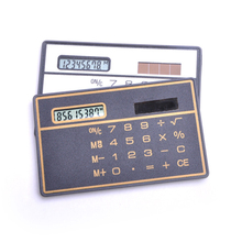 Portable Scientific Calculator Bank Card Style Handheld Calculator Mini Wallet Storage Calculators for Stationery Gi(China)