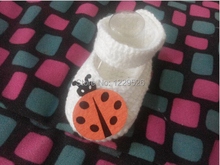 Hot Sale Baby Crochet Shoes  Handmade Booties Baby Crochet