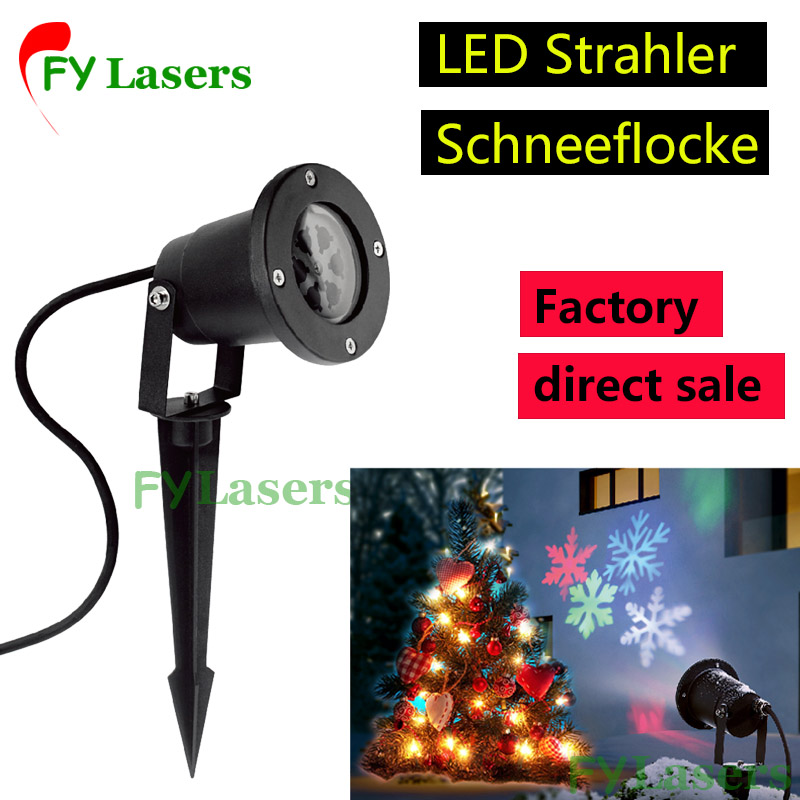 Outdoor waterproof LED projection lamp, garden lamp, snowflake lamp, animation lamp<br>