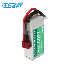 GDSZHS Power 3S 11.1V 1200MAH Remote control model aircraft battery manufacturers Lithium Polymer 3S For FPV RC Helicopter(China)