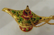 wine kettle wine bottle Stained Magic Lamp Russian color tin furnishing articles Glazed Phnom