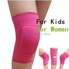 Women Knee Pads For Dance Baby Crawling Children Volleyball Tennis Basketball  Knee Support Sports Gym Knee pads 1 Pair L325