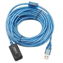 EWS 10M USB 2.0 Extension Cable Active Repeater(China)