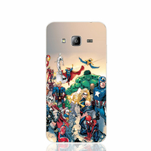 21271 Marvel Comic Book Characters cell phone case cover for Samsung Galaxy J1 ACE J5 2015 J7 N9150