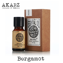 AKARZ Famous brand pure natural bergamot essential oil Antibacterial Skin control Clear air as for psoriasis acne bergamot oil