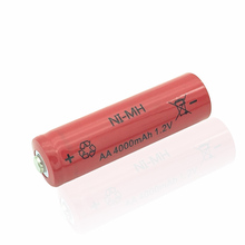 10 PCS 1.2V AA Rechargeable 4000mAh 2A Neutral Battery Rechargeable  battery  aa  batteries Free shipping