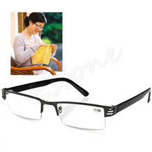 Hot Blue Film Resin Reading Glasses Diopter +1.00 1.50 2.00 2.50 3.00 3.50 4.00(China)