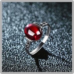 JIASHUNTAI Retro 100% 925 Sterling Silver Rings For Women Vintage Natural Stone Rings Jewelry Female