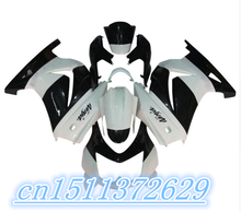 white black fairings Kawasaki Ninja 250R 2008 2009 2012 EX250 08-12 ZX 250R 2008 2009 2010 2011 2012