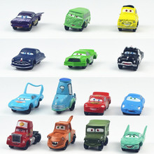 SELLWORLDER 14pcs/set Pixar Cars Key Chain Model Toy Plastic Diecasts & Toy Vehicles 3-5cm