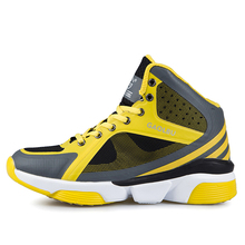 2016 Mens Basketball Shoes Sneakers High Top Basketball Sports Shoes Boys Leather Basketball Shoes Brand Authentic Boots Male