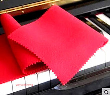 Piano tuning tool manufacturer wholesale high-grade piano keyboard cloth, keyboard cover with dust cover(China)