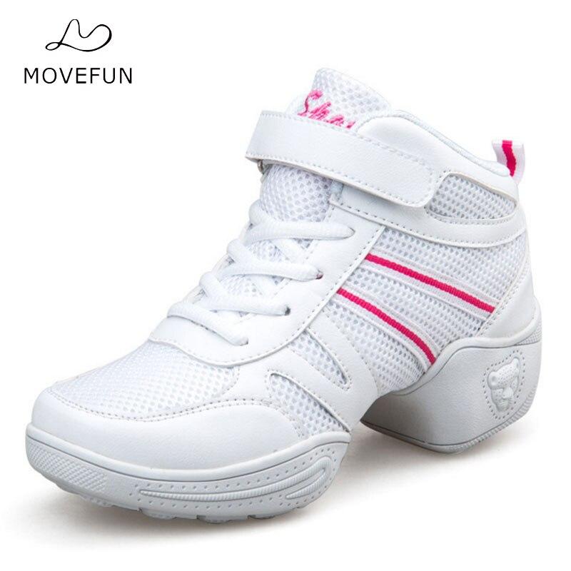 Soft Outsole Dancing Sneaker Women Platform Sports Dance Shoes for Woman MoveFun Modern Jazz Dance Sneakers Practice Shoes-20