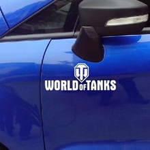 (50 pieces  /lot) Wholesale Car Styling World Of Tanks vinyl stickers decals for car auto truck car-styling