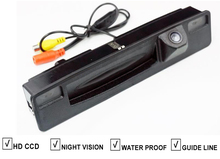 CCD Car Trunk Boot Handle Rear View Reverse Camera For FORD FOCUS 2015 2016 Vehicle Backup Parking Camera Night Vision Guide Lin(Hong Kong)