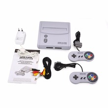 Classic For SNES TV Video Game Console With Double Free Game Handle Controller Professional Home Gamepad Gaming (US Version)