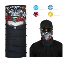 Multi-purpose custom bandana seamless skull bandana