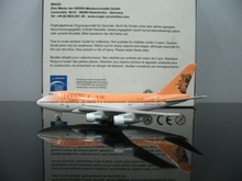 1:600 ALLIANCE AIR  African Airlines  lion painting  Boeing 747-SP  ZS-PSA Airplane Models