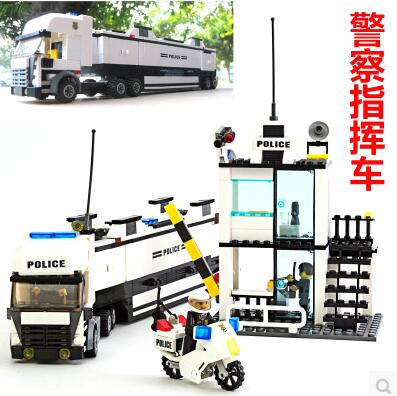 New KAZI 6727 Police Station Building Blocks Bricks Educational Toys Compatible with all brand city Birthday Gift Toy Brinquedos<br><br>Aliexpress