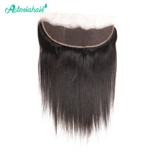 Asteria Hair Brazilian Human Hair Straight 13X4 Lace Frontal With Baby Hair 8-20 Inches Remy Hair Free shipping