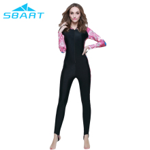 SBART hot sales Upf50 Wetsuit 1mm Long Swimming Suits For Women Lycra Dive Surf Wet Suit Diving Surfing Wetsuits Swim