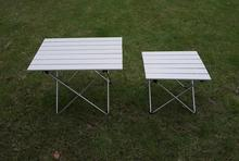 Outdoor Portable Camping Table Aluminium Alloy Folding Table Picnic Table Ultralight(China)