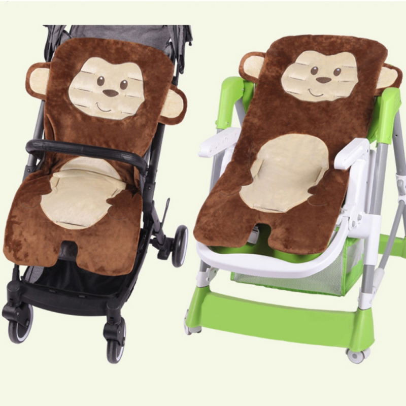 Activity & Gear Cartoon Baby Chair Cushion Baby Stroller Baby Carriage Umbrella Stove Warm Blanket Cartoon Elephant Comtable Accessories Strollers Accessories