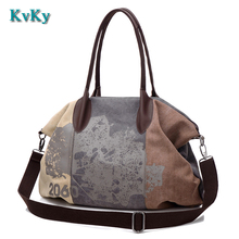 Women Canvas Bag Large Capacity ladies Shoulder Bag Leisure Girls Handbag Rushed Crossbody Bags Brands Big Casual Tote Bolsa