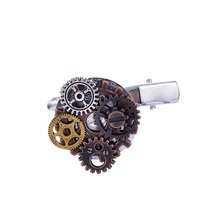 Punk Style Multiply Gears Archaized Industrial Mechanical Steampunk Hairclips Accessory(China)