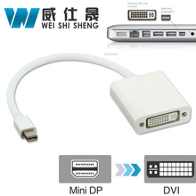 Mini DP Displayport Thunderbolt To DVI Display cable male to female Port Cable Adapter For Apple Macbook Microsoft Surface Pro