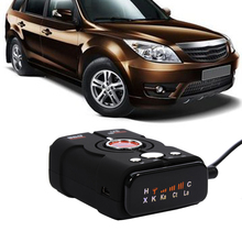 V8 TopBox Car-Detector 360 Degree Radar Detector Full 16 Band LED Display Auto Laser Security Car Speed Control(China)