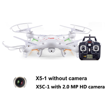Syma X5C Quadcopter Drone With Camera or Syma X5 without camera(China)
