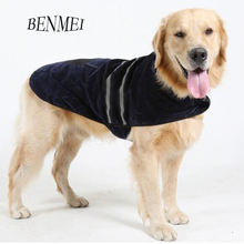 Buy BENMEI New Winter Pet Dog Clothes Small Large Dogs Warm Apparel Leisure Sweater shirt Padded clothing Outfit Coat Costume for $7.85 in AliExpress store