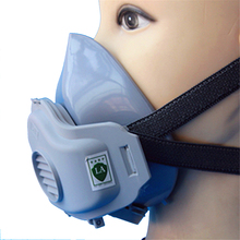 High Quality Protection Gas Mask Anti-fog Haze Industrial Dust Mask Respirator Free Shipping(China)