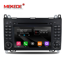free ship 2 Din 7 Inch Car DVD Player For Benz/Sprinter/W209/W169/W245/Viano/Vito/B-Class/B150/B170/B200/A160/A180 FM GPS Radio(China)