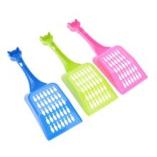 3Pcs Plastic Cat Litter Shovel Pet Cleanning Tool Plastic Scoop Cat Sand Cleaning Products Toilet For Dog Food Spoons(China)