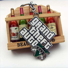 Grand Theft Auto R 5 V 5gta5 Limited Edition Collection Keychain Game Key Ring Keychains For Men Game Jewelry