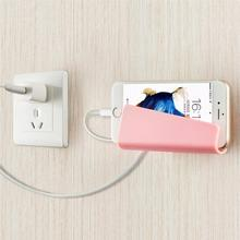 Creative Foldable Wall Charger Adapter Mobile Cell Phone MP3 Charging Charger Holder Stand Cradle charge Holder